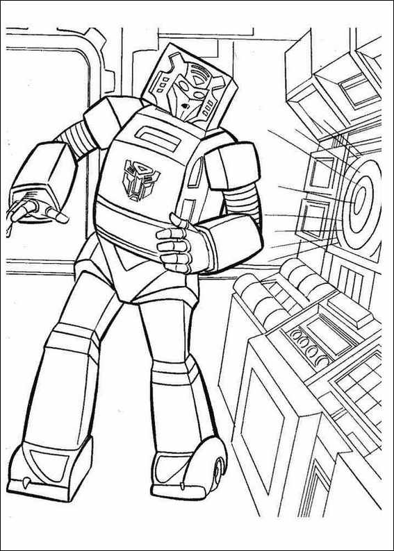 new transformers coloring pages - photo #41