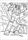 Transformers 018 coloring page