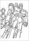 Transformers 019 coloring page