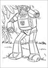 Transformers 020 coloring page
