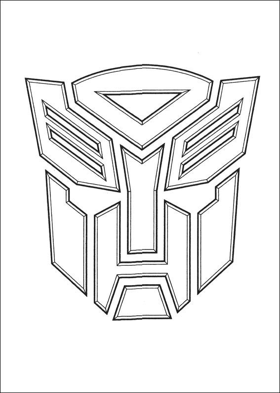 Transformers 037 Coloring Page