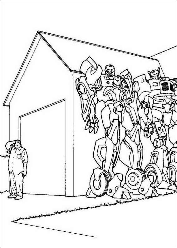 Transformer Cliffjumper Coloring Coloring Pages