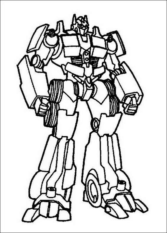Transformers 060 coloring page for Transformers animated coloring pages