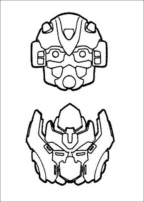 Transformers 063 Coloring Page
