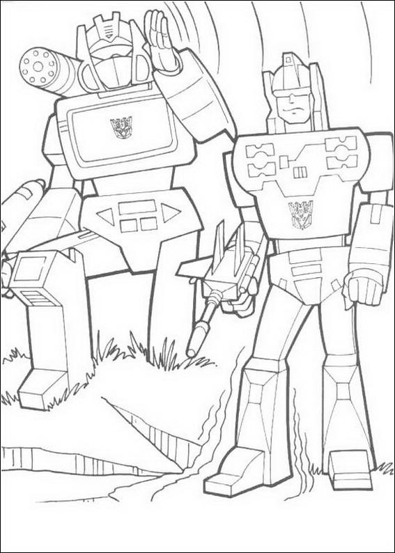 Transformers 079 coloring page picture to pin on pinterest for Coloring pages com
