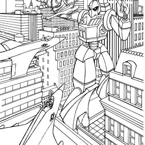 transformers coloring page - Transformer Coloring Pages