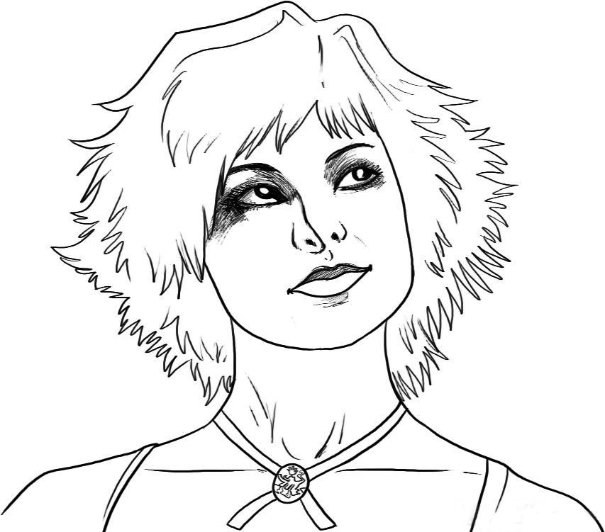 Twilight Alice coloring page