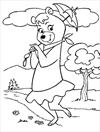 Cindy Bear coloring page