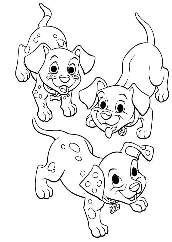 102 Dalmatians 07 coloring page