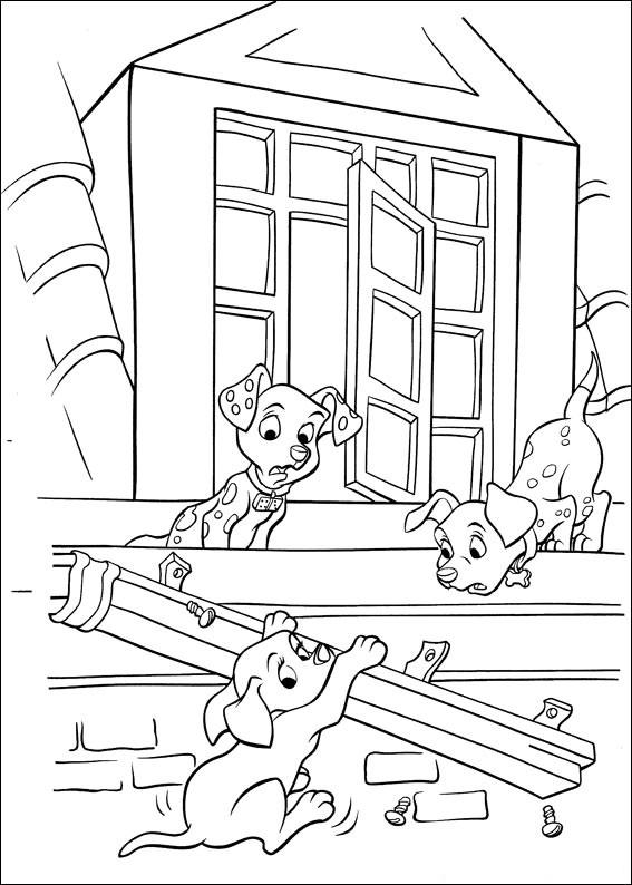 102 Dalmatians 11 coloring page