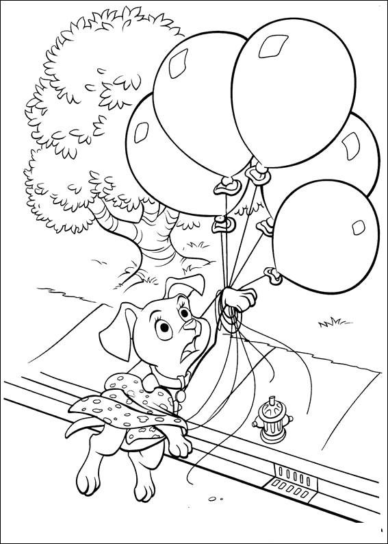 102 Dalmatians 16 coloring page