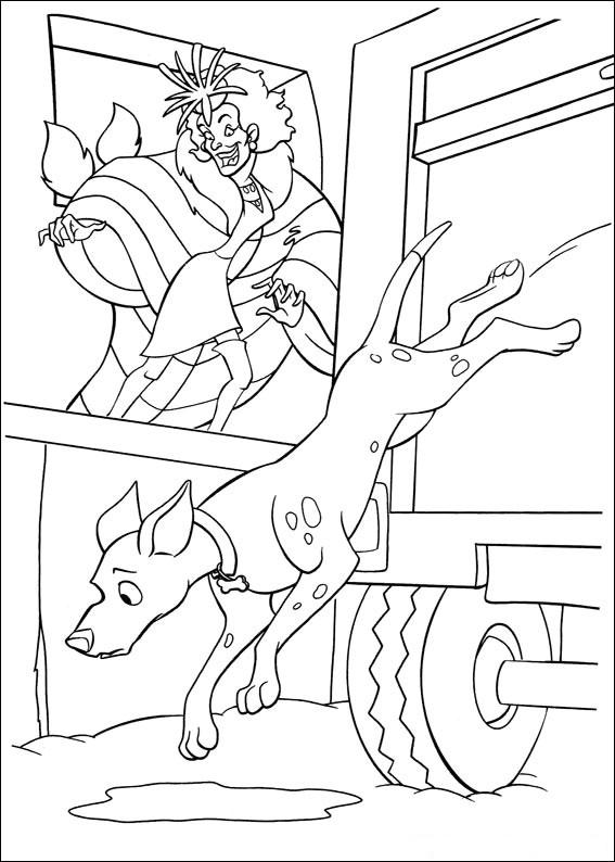 102 Dalmatians 31 coloring page