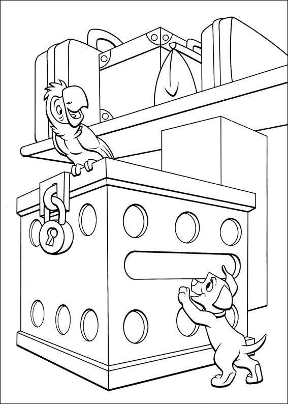 102 Dalmatians 39 coloring page