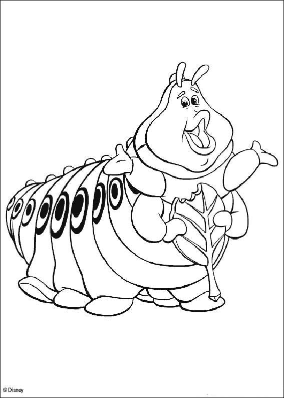 a bug life coloring pages - photo #49