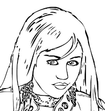Free Printable Coloring Pages Hannah Montana, Download Free Clip Art, Free  Clip Art on Clipart Library | 228x216