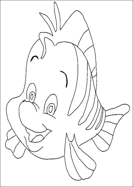 Free Coloring Pages Of Fish And Chips