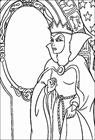 Snow White Witch coloring page