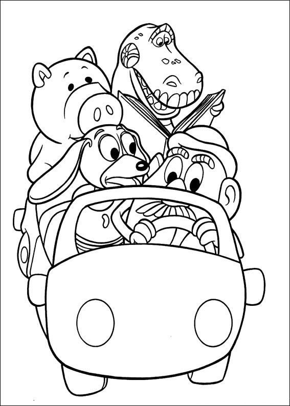 coloring book pages toys - photo#29