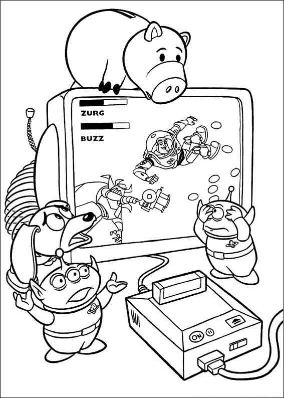 toy story 069 coloring page