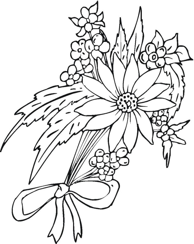 Flower 11 Coloring Page