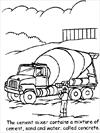 Truck 2 coloring page