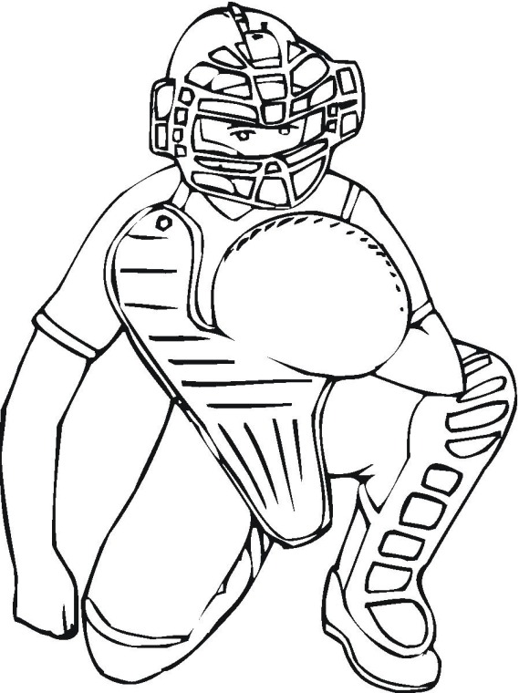 Ultimate Baseball Coloring Sheets Roundup — Printable Treats.com