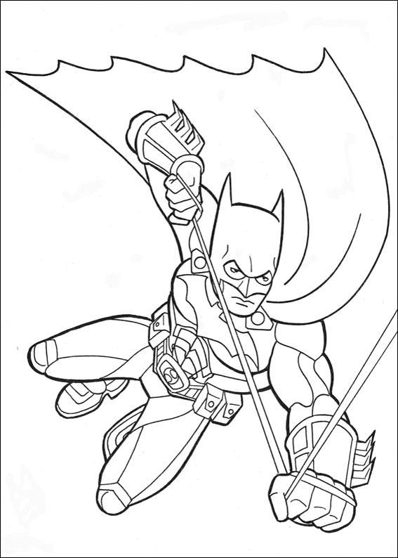 Batman 048 Coloring Page