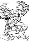 Batman 108 coloring page