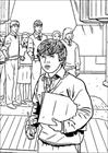 Harry Potter 012 coloring page