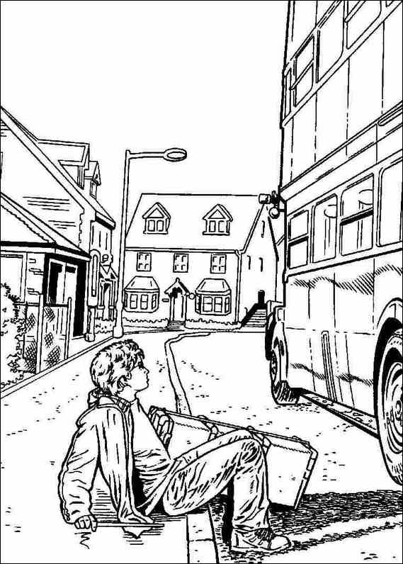 harry potter 026 coloring page