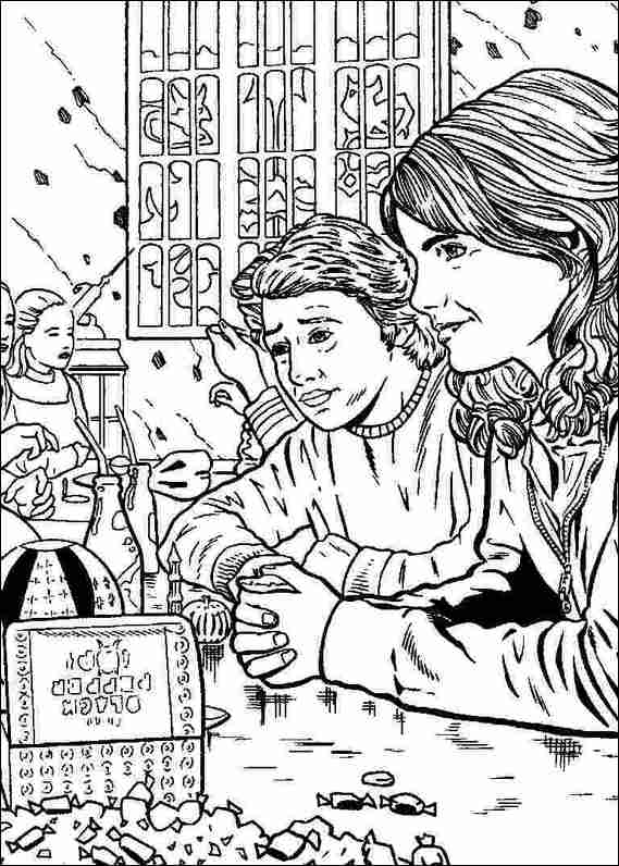 Harry Potter 037 coloring page