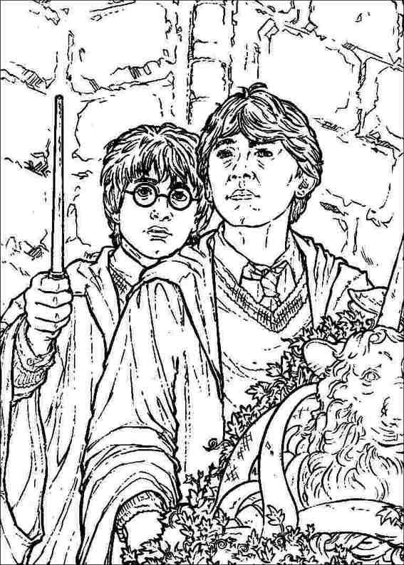 harry potter 059 coloring page