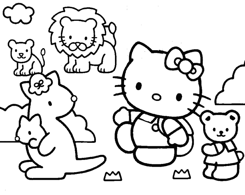 Sanrio Coloring Pages Online