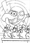 Muppets 2 coloring page