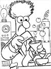 Muppets chemical coloring page