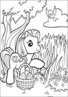 My Little Pony easter 2 coloring page