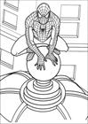 Spiderman 002 coloring page