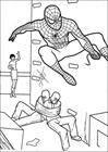 Spiderman 011 coloring page