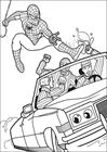 Spiderman 019 coloring page