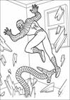 Spiderman 029 coloring page