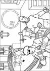 Spiderman 035 coloring page