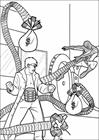 Spiderman 036 coloring page