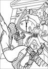 Spiderman 043 coloring page