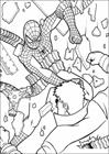 Spiderman 054 coloring page