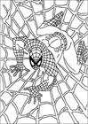 Spiderman 073 coloring page