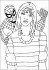 Spiderman 089 coloring page