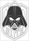 Star Wars 123 coloring page