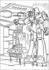 Transformers 001 coloring page