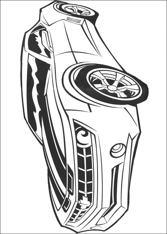 Transformers 026 coloring page