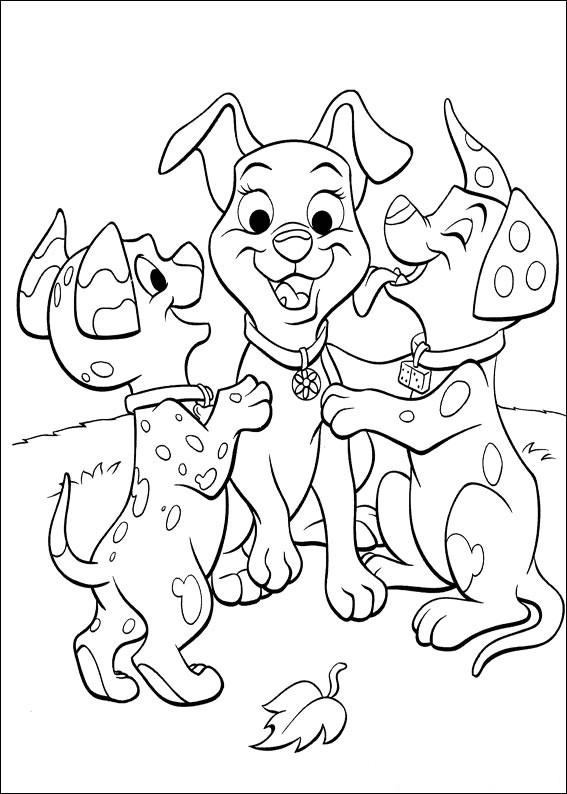 102 Dalmatians 19 coloring page